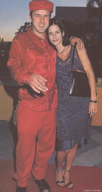 David schwimmer and courteney cox married